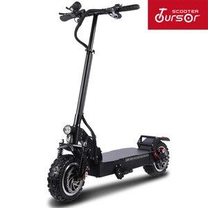 Электрический скутер TS_E1 dult с мощностью 60 в/3200 Вт, мощный самокат с толстой шиной, для взрослых, больших колесных электрических скутеров, с ма...