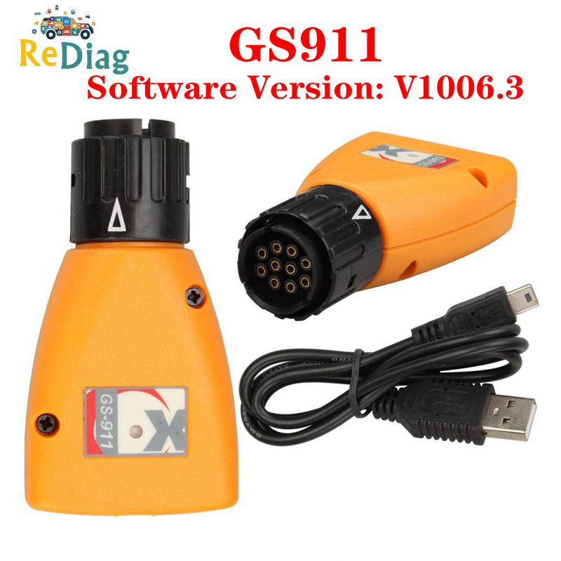 Professional Diagnostic Tool GS-911 V1006.3 Emergency Diagnostic Tool For BMW Motorcycles GS911 Motorcycles