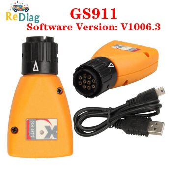 Professional Diagnostic Tool GS-911 V1006.3 Emergency Diagnostic Tool For BMW Motorcycles GS911 Motorcycles image