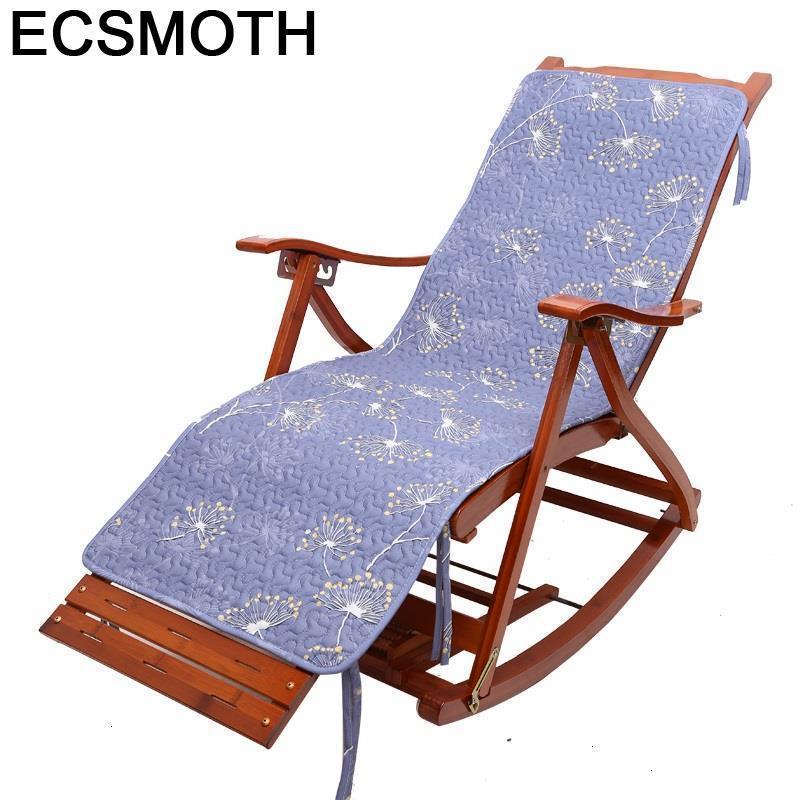 Bureau Armchair Abatible Rocking Cama Plegable Sillon Reclinable Bamboo Sillones Moderno Para Sala Fauteuil Salon Lounge Chair