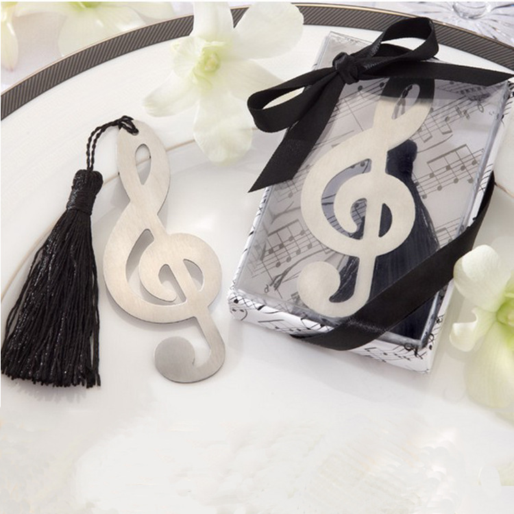 Metal Bookmark Music Notes Bookmark Music Note Bookmark Exquisite Creative Business Gift Stationery Supplies In One Hand And Sup