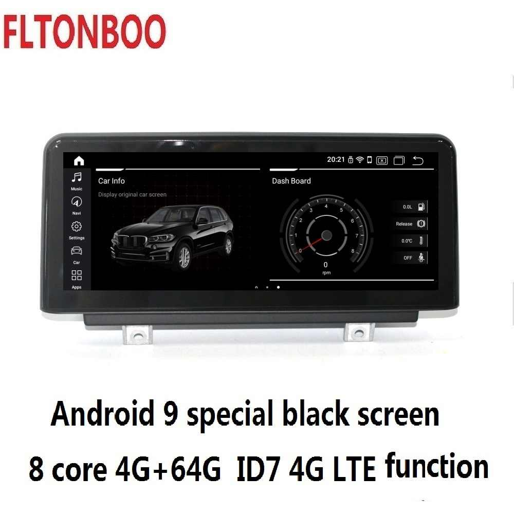 10,25 ''Android 9,0 coche Gps radio reproductor Navegación para BMW F20 F21 1serie 8 core 4GB RAM 64GB ROM soporte wifi bluetooth