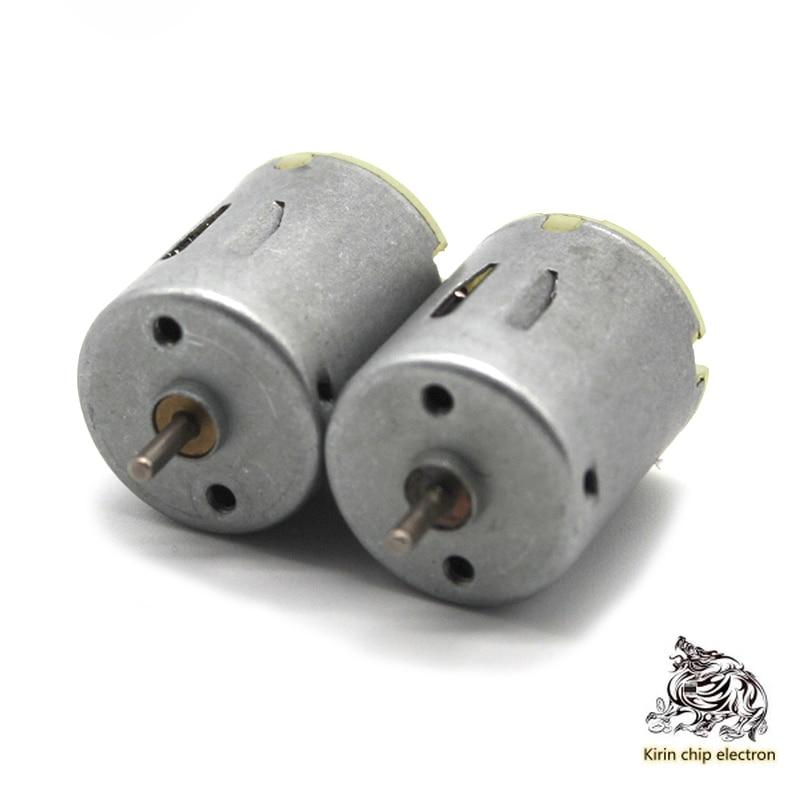 5PCS/LOT Round 270 Motor High-speed Micro DC Motor 3v 6v Handmade Toy Car Electronic Accessories Maker Diy