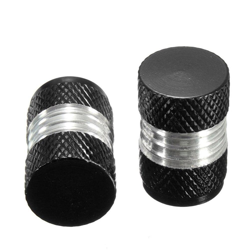 4 Pcs Car Motorbike Bike Aluminium Tyre Wheel Stem Air Valve Dust Caps Covers