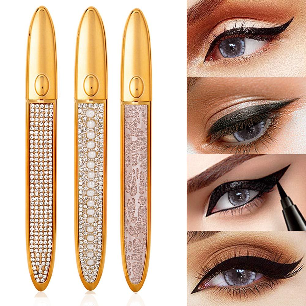 Wholesale Eyeliner Lash Glue Pen for Makeup Eyelashes Tool Long Lasting Easy Wear Pen Pencil Free DHL Fast Shipping