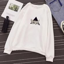 2019 New Plus Size Autumn Winter Fashion Unisex Men Women Long Sleeve Pullover Sweatshirt O-Neck Printed Pullover Tops Blouse
