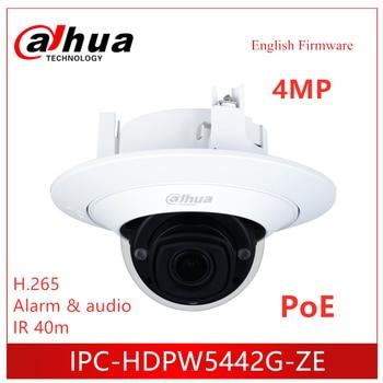 Dahua 4MP IP Camera IPC-HDPW5442G-ZE AI IR Vari-focal Dome Network Camera 2.7 mm–12.0 mm motorized lens Security camera цена 2017