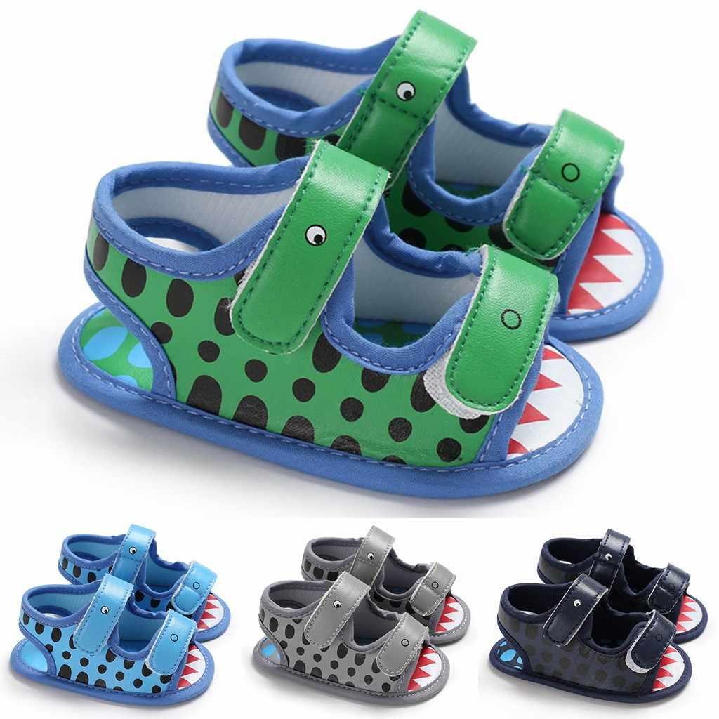 2020 nuevos zapatos de verano para bebés, sandalias para niños y niñas, suela suave de animales de dibujos animados, zapatos de primera caminata, Sandalia Infantil # C1
