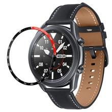 Металлическое кольцо для стайлинга для Samsung Galaxy Watch 3 41 мм/45 мм, защитное кольцо для galaxy watch 3