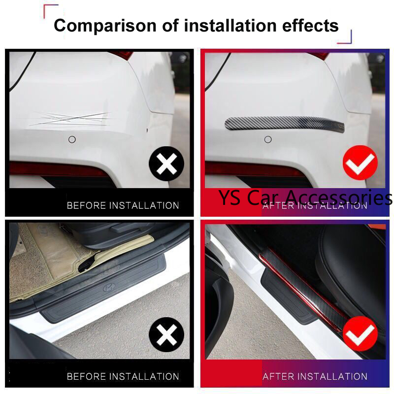 cheapest 3 Meter Car Threshold Cover Edge Guard Sticker Moulding Strip Rubber for Car Door Trim Bumper DIY Auto Door Protector Protection