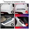 3 Meter Car Threshold Cover Edge Guard Sticker Moulding Strip Rubber for Car Door Trim Bumper DIY Auto Door Protector Protection discount