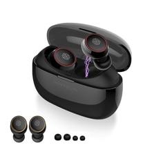 NILLKIN auriculares TWS inalámbricos con Bluetooth 5,0, auriculares manos libres con micrófono y estuche de carga para videojuegos