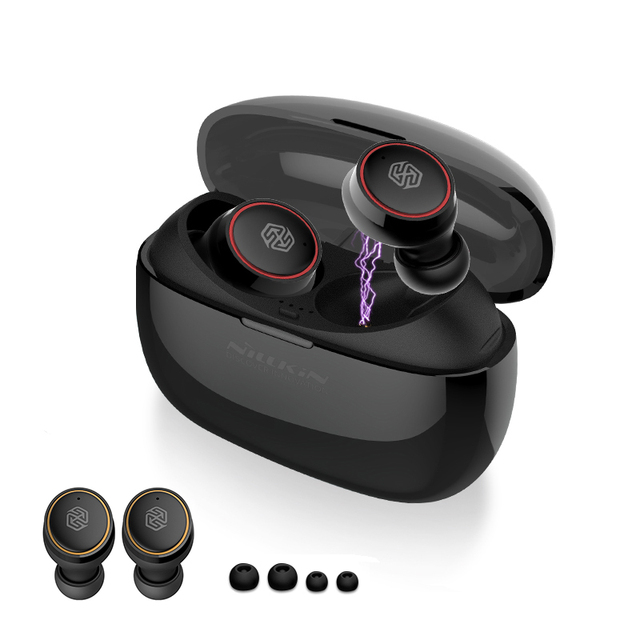 Nillkin Echte Draadloze Oordopjes Tws Oortelefoon Bluetooth 5.0 Met Opladen Case Mic Handsfree Oordopjes Gaming Draadloze Hoofdtelefoon
