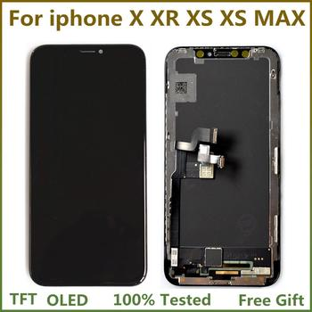 "5.8 ""TFT OLED Display LCD Screen Con 3D Touch Per iphone X XR XS LCD Touch Screen Digitizer Assembly per iphone XS Max JK Affissioni A Cristalli Liquidi"