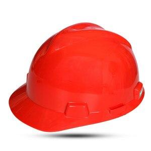 Image 4 - ABS Стандартный Безопасность Кепки защитных шлемов для строительных площадок
