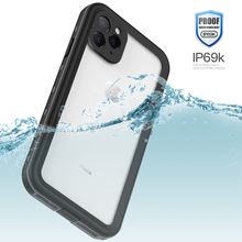 IP69K voor IPhone 11 Pro Max Wateproof Case Originele Dot Plus Clear Back Waterdichte Duiken Onderwater PC + TPU Armor sneeuw(China)