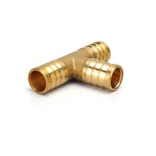 4mm 5mm 6mm 8mm 10mm 19mm T way t-kształt mosiądz Barb rury armatura do węży 3 way złącze do węża miedzi Pagoda rura wodna armatura tanie tanio Odlewania Mężczyzna Równe Wtyczka Other Round CYL-BB02-T 4mm to 19mm