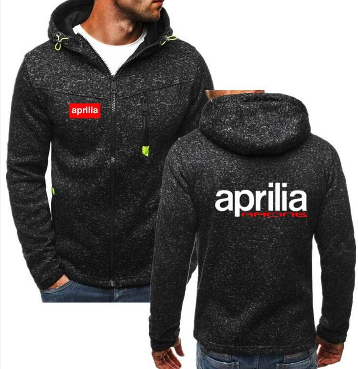2019 Winter New Fashion Aprilia RSV 1000 Hoodie Men Zipper Cardigan Mercedes F1 Hoodie Sweatshirts Casual Coat
