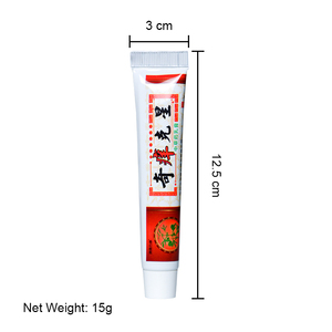 Image 5 - 1pcs Chinese Herbal Antibacterial Cream Antipruritic Ointment Psoriasis Dermatitis Eczematoid itching Pain Relief Plaster P1071