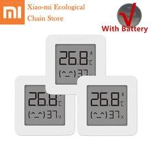 Xiaomi Mijia Bluetooth Thermometer 2 Wireless Smart Electric Digital Hygrometer Thermometer Indoor Sensor Work with Mijia APP