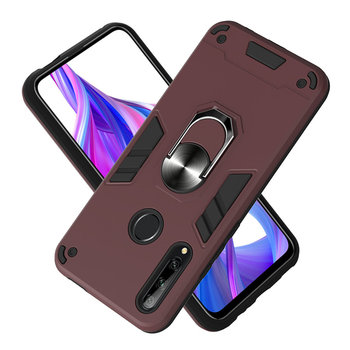 Luxury Warframe Case For Xiaomi Mi A3 9T Note10 Redmi 5A 6A 7A Note 4X 5 6 7 8 Pro 8T Armor Car Ring Magnetic Finger Holder P03B image