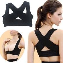 Cinta de apoio para as costas cinta corrector de postura cinta de ombro espartilho dor nas costas