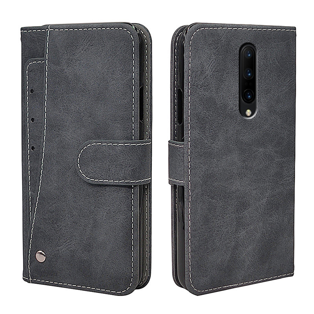 Luxury Vintage <font><b>Case</b></font> For <font><b>OnePlus</b></font> 1+ 7T 7 6 5 3 <font><b>2</b></font> 1 6T 5T 3T Pro <font><b>Case</b></font> Flip Leather Soft Silicon <font><b>Wallet</b></font> Cover Fundas Phone Bag image