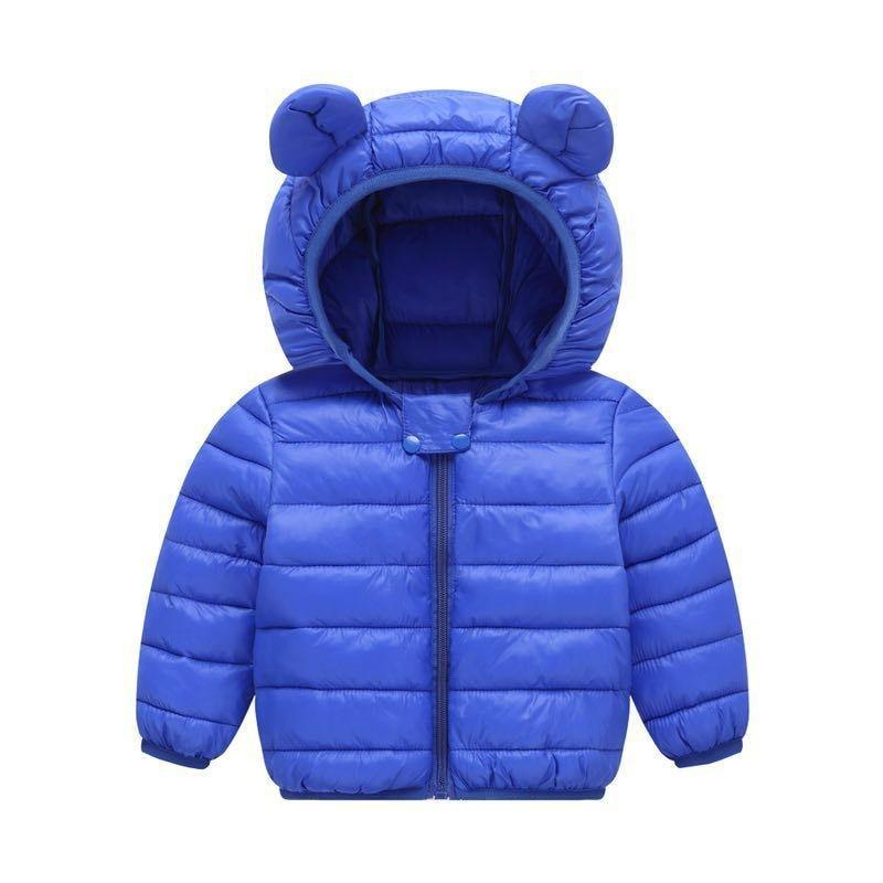 Baby Girls Hooded Down Jackets For Kids Coats Autumn Boys Cartoon Warm Jacket Coat Jacket Toddler Girl Zipper Jacket Outerwear 6