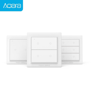 Xiaomi Aqara Opple Zigbee Smart Switch Light Switch Smart App Control Wireless Wall Switch work with Mijia App Apple Homekit