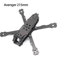 Tcmrc cadre de Drone FPV 5 pouces, Avenger 215, base de roues, bras de 215mm 4mm en Fiber de carbone, Kit de cadre de Drone FPV