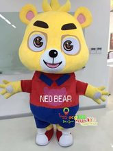 Bear Mascot Clothes Cartoon Panda Suit Character Cosplay Custome Adult Party Event Apparel Cartoon Character Birthday Clothes(China)