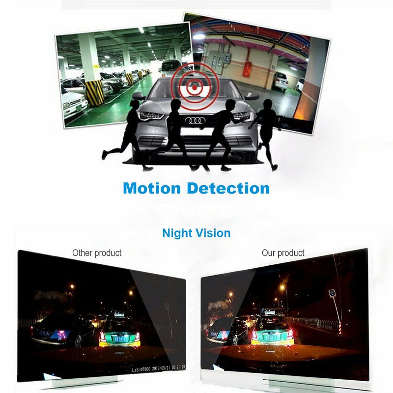2.4inch 720p/1080p Mini Portable Full HD Screen Car DVR G30 Car Night Vision Dashboard Camera Driving Recorder  With 8GB TF card