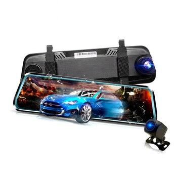 1080P 10 Car DVR Rearview Dual Dash Cam Camera Front Rear HD Video Recorder