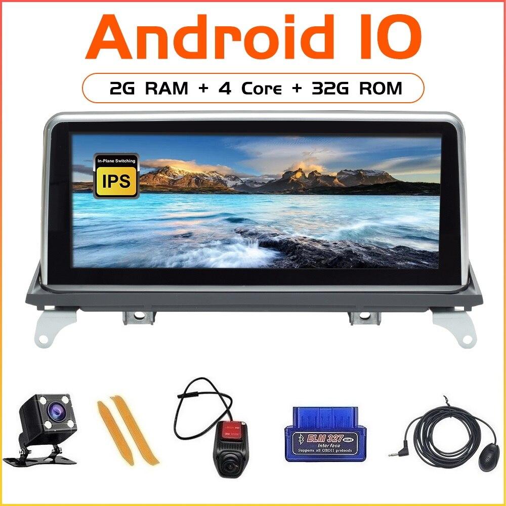"ZLTOOPAI 10.25 ""Android 10 Auto Radio Multimedia Player Für BMW X5 E70 X6 E71 2007-2013 CCC CIC GPS Navigation Kopf einheit Stereo"