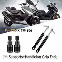 2 pièces Entretoises Bras Supports De Levage Pour Yamaha TMAX 500 2002-2011 TMAX 530 2012 2013 2014 2015 2016 2017 2018 2019 Embouts de guidon