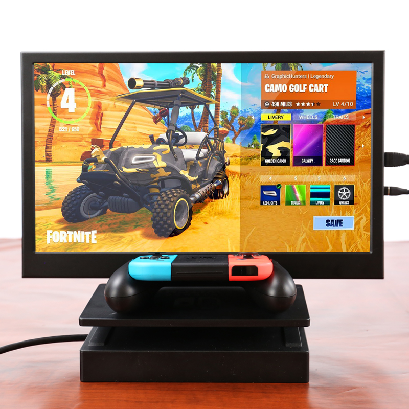 Nouveau 13.3 pouces 2K HD moniteur Portable écran tactile PC PS3 PS4 Xbo x360 1080P IPS écran LED lcd moniteur pour Raspberry Pi - 6