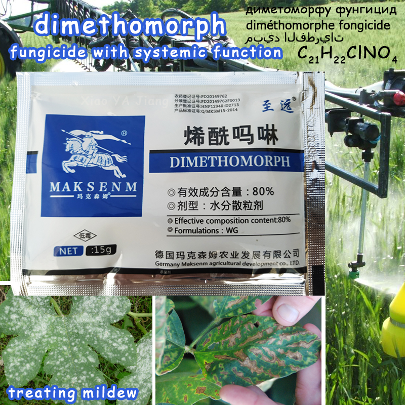 Dimethomorph Fungicide Treating Mildew And Root Rot Diseases Soil Disinfectant Plant Sterilization Growth Garden Bonsai