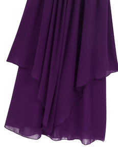 Image 5 - Chiffon Flower Girls Dress Floor Length Sleeveless Wedding Party Dress Sequined Halter Flower Girl Dress Princess Pageant Dress