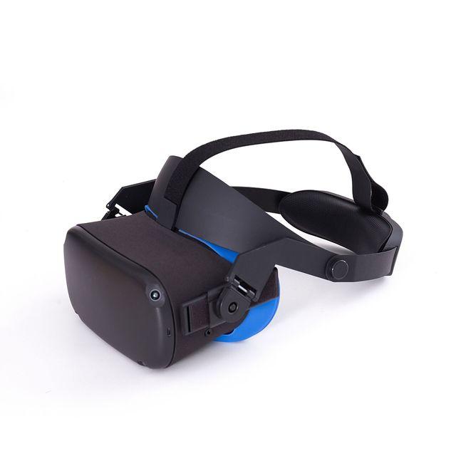 Oculus quest aura band rozwiązuje równowagę nacisku twarzy, wygodne i regulowane, ergonomiczne akcesoria wirtualnej rzeczywistości