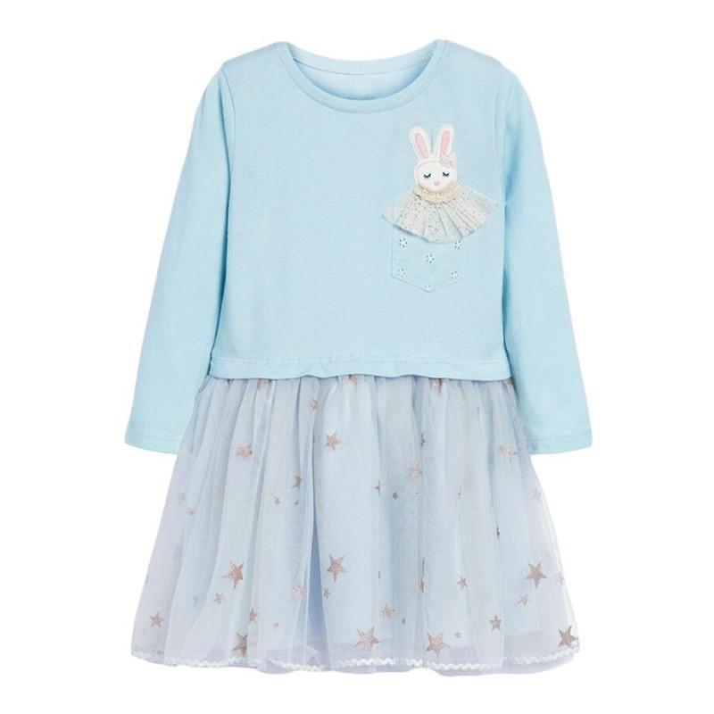 Little Maven Brand Baby Girls Clothes Winter Black Unicorn Cotton Print Toddler Girl Christmas Dresses for Kids 2-7 Years S0908 6