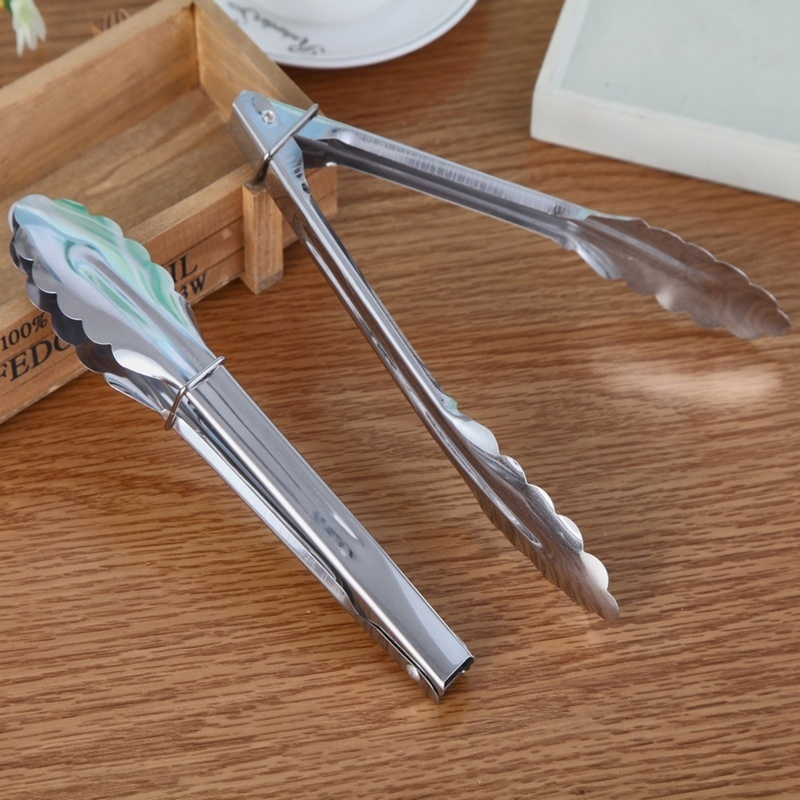 Выпечки магазин Салат Хлеб барбекю щипцы спагетти сервировки буфет щипцы для пищи из нержавеющей стали зажим для кухни кухонная утварь
