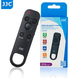 JJC Wireless Remote Control Controller for Sony a7 III a7R III a7R IV a6400 DSC-RX0 II DSC-RX100 VII Replace RMT-P1BT Commander