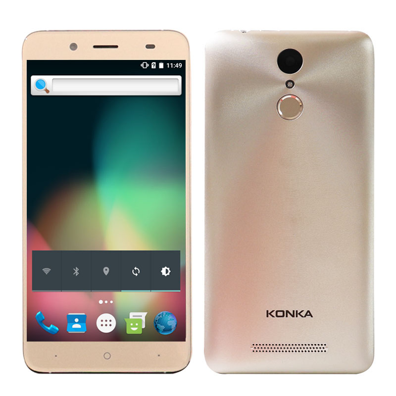 "Clearance Sale 5.5"" Screen Android 6.0 Celular GSM 3G Smartphone Cheap Mobile Phone 2GB 16GB Phones Google Pl"