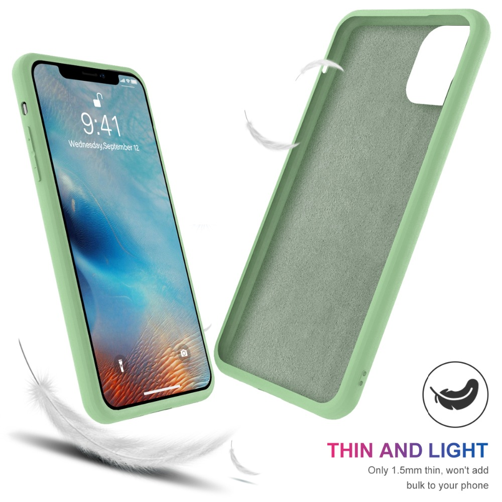 Torubia Silicone Case for iPhone 11/11 Pro/11 Pro Max 104