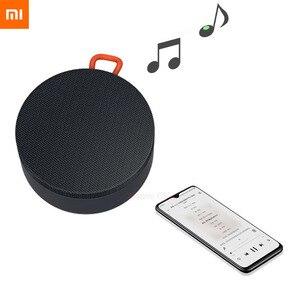 Image 1 - Xiaomi 屋外の Bluetooth スピーカーミニポータブルワイヤレス IP55 防塵防水スピーカー MP3 音楽サラウンド話す