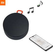 Xiaomi портативная беспроводная мини колонка с Bluetooth, IP55, Пыленепроницаемая, водонепроницаемая, mp3 плеер, стерео, музыка, объемное звучание