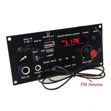 FAI DA TE altoparlante 3.7V Digitale batteria al litio Bluetooth Mono Bordo Amplificatore Microfono Karaoke Amplificatori AUX TF USB di Registrazione FM