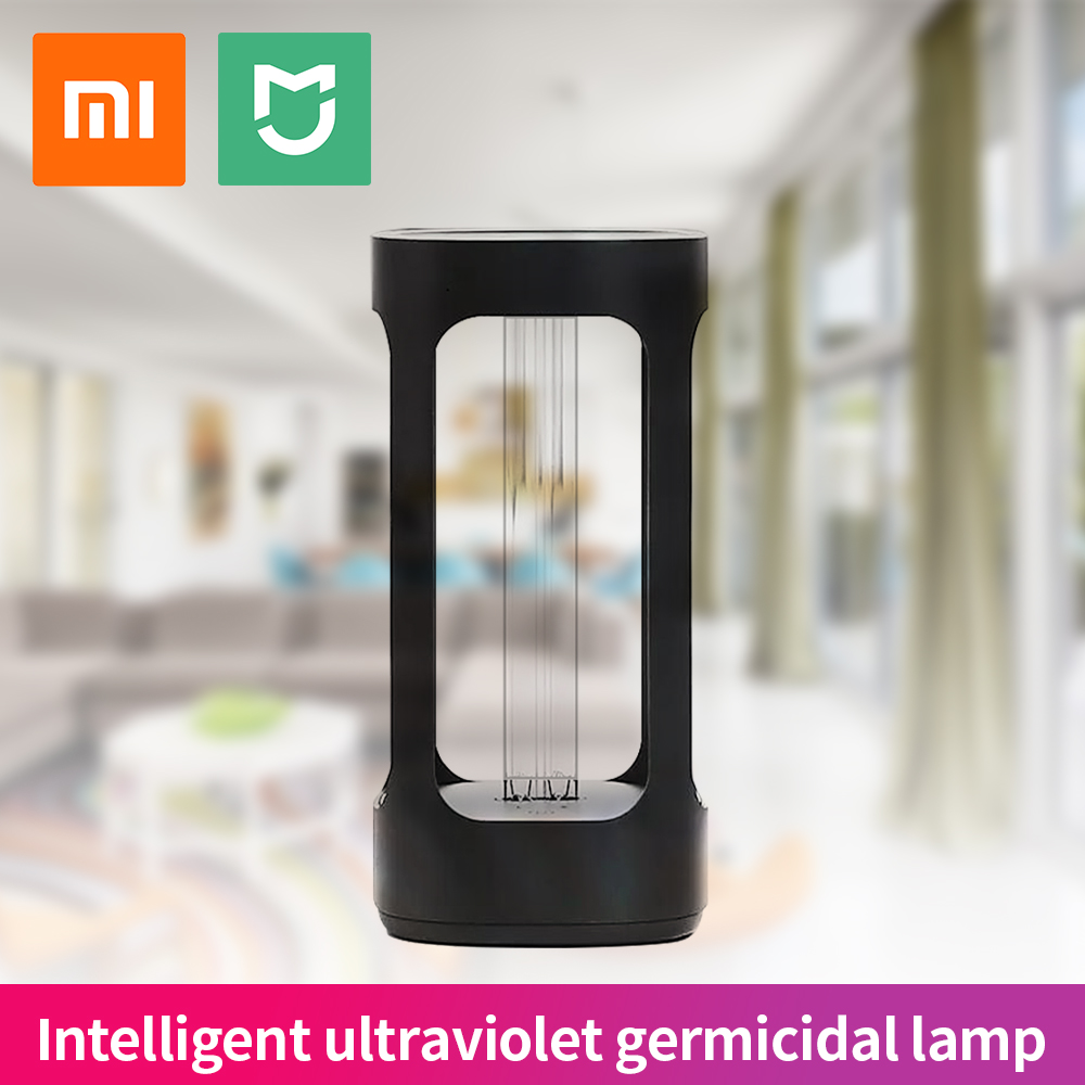 Xiaomi FIVE Интеллектуальный Ультрафиолетовый бактерицидный свет UVC дезинфекция стерилизатор свет датчик человеческого тела Mijia приложение дис...