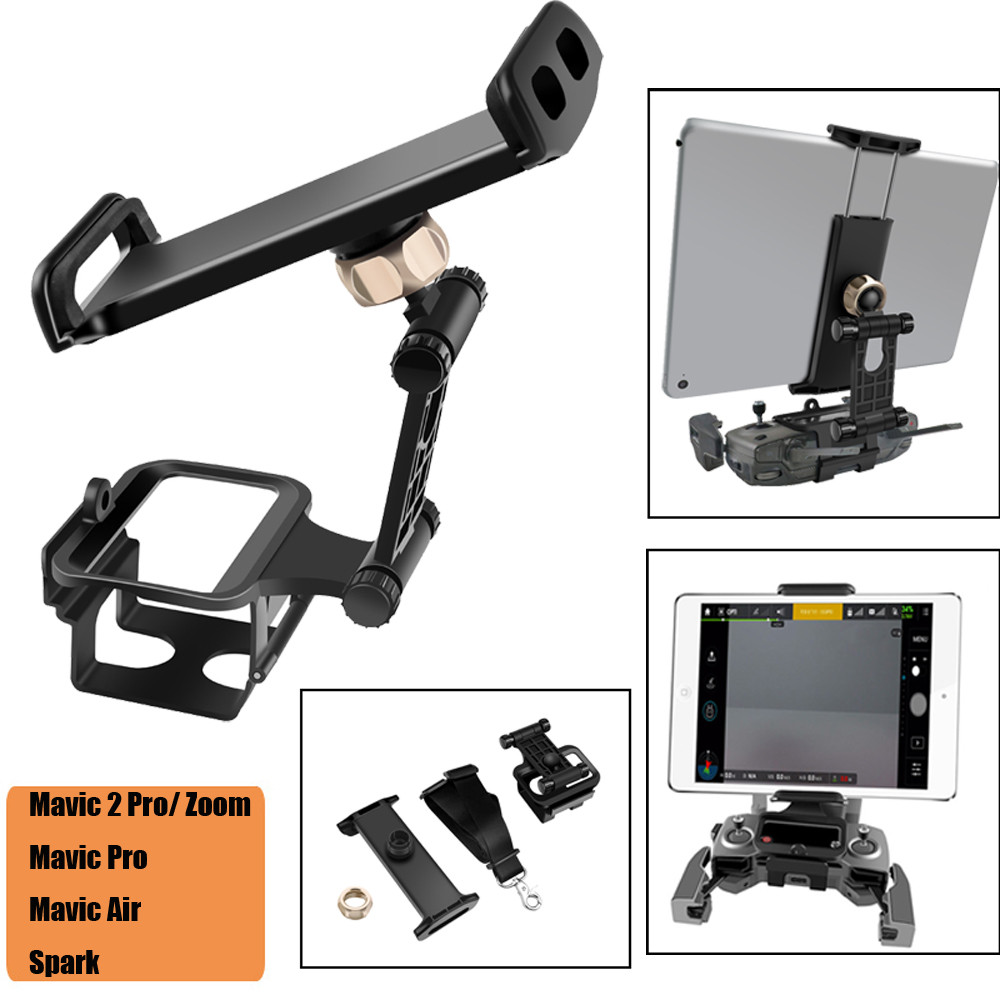Extension Tablet Stand Mount Holder Bracket Hold for DJI Mavic iPhone6 6S 7 iPad