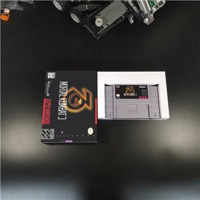 Mortal Kombat 3 - Action Game Card US Version With Retail Box